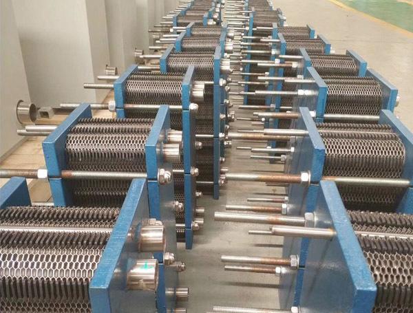 板式换热器厂区展示