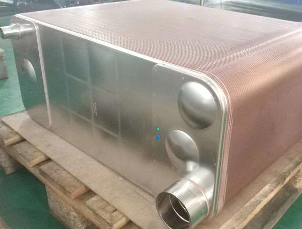 钎焊板式换热器成品