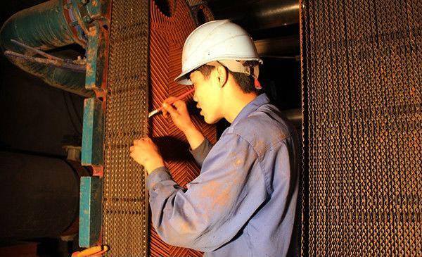 板式换热器维修