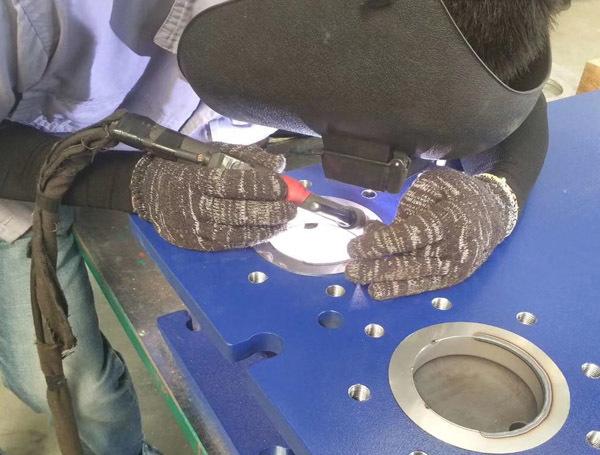 可拆板式换热器细节图