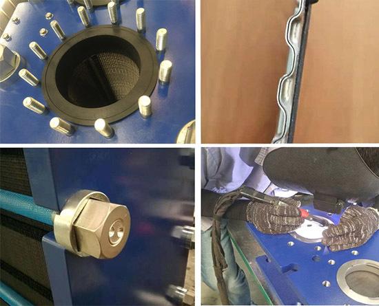 可拆式板式换热器细节图