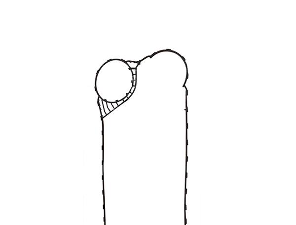 桑德斯-S121型板式换热器密封胶垫
