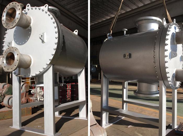 全焊接板壳式换热器