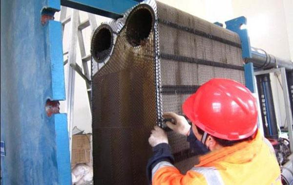 板式换热器拆卸维修步骤及注意要点