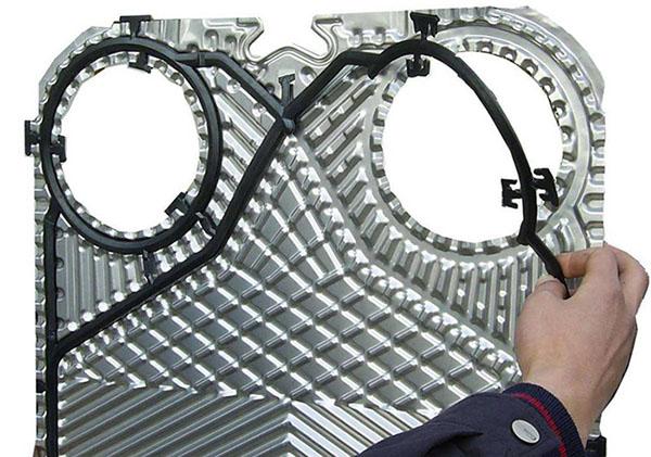 如何选择适用不同板式换热器的密封垫
